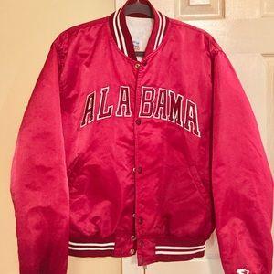 Alabama 90's satin bomber jacket sz lg by Starter.